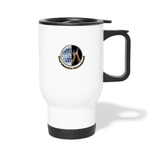 DMI Color Logo - Travel Mug with Handle