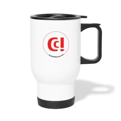 CC! logo - Travel Mug with Handle