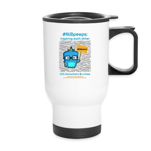 audshirtdesignforwhitePNG png - Travel Mug