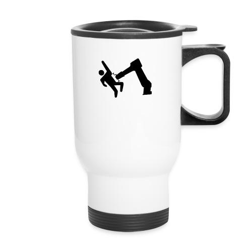 Robot Wins! - Travel Mug