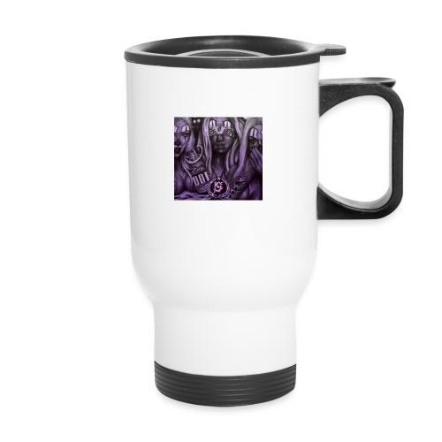 see no hear no - Travel Mug