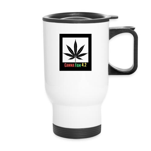 Canna Fams #2 design - Travel Mug with Handle