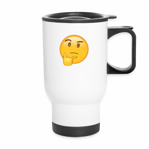 Thinking Face - Travel Mug