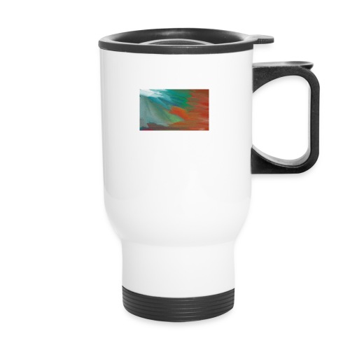 paint design - Travel Mug