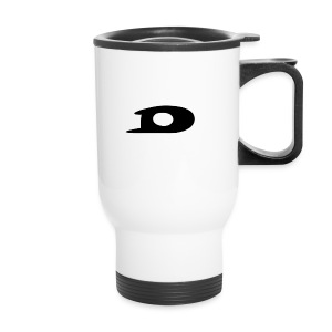 ORIGINAL BLACK DETONATOR LOGO - Travel Mug
