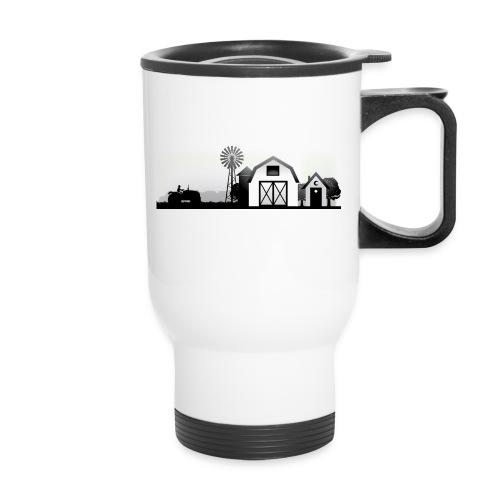 thbblackillustration02 - Travel Mug with Handle