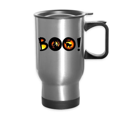 Happy Halloween Boo 5 - Travel Mug