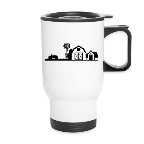 thbblackillustration01 - Travel Mug
