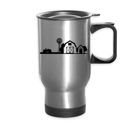 thbblackillustration01 - Travel Mug