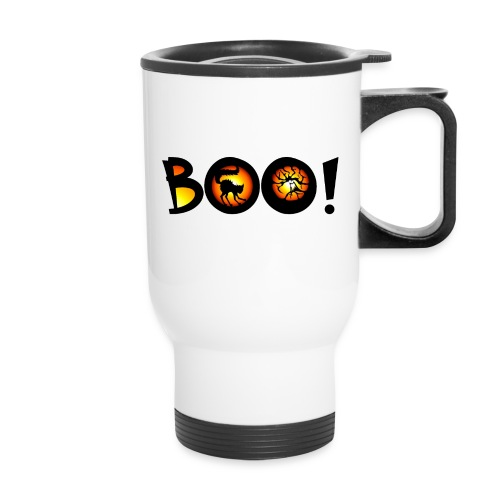 Happy Halloween Boo 3 - Travel Mug