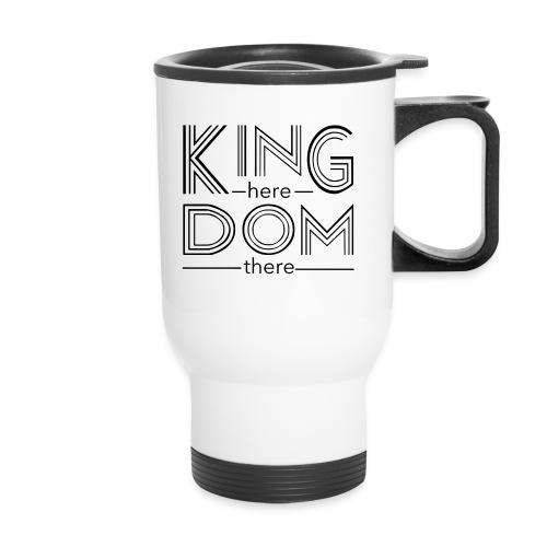 Black KHKT logo - Travel Mug