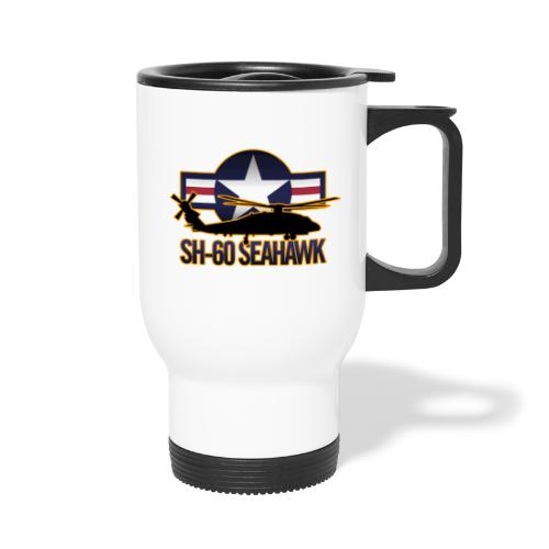 SH 60 sil jeffhobrath MUG - Travel Mug