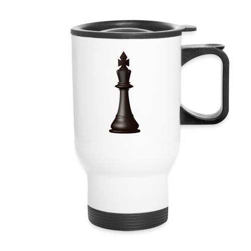 Black king - Travel Mug