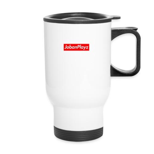 JobanPlayz Text - Travel Mug with Handle