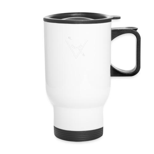 Urban Roots Symbol White - Travel Mug