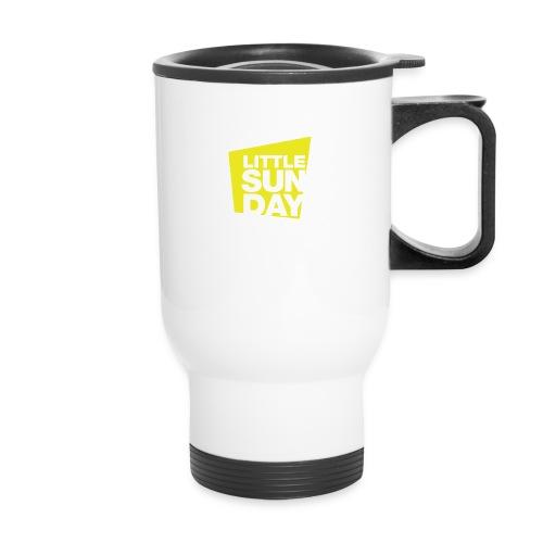 littleSUNDAY Official Logo - Travel Mug
