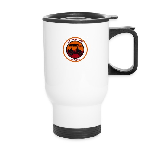 Nomads Logo - Travel Mug