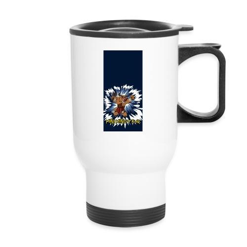 minotaur5 - Travel Mug with Handle