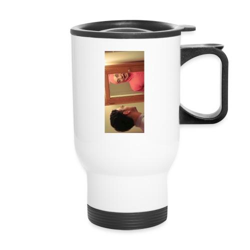 pinkiphone5 - Travel Mug