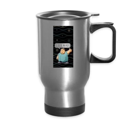 nerdiphone5 - Travel Mug