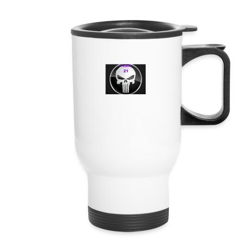 Team 21 white - Travel Mug