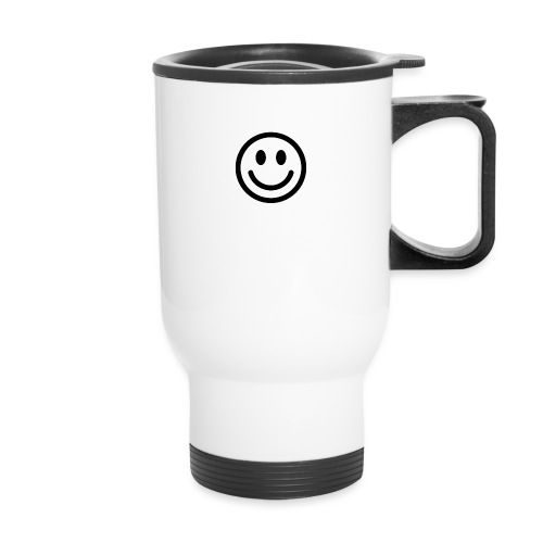 smile dude t-shirt kids 4-6 - Travel Mug