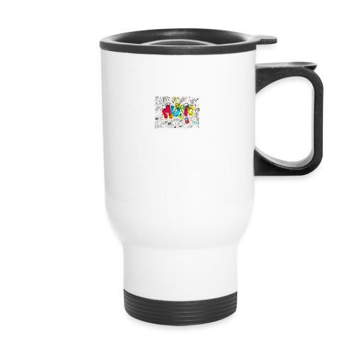 music banner - Travel Mug