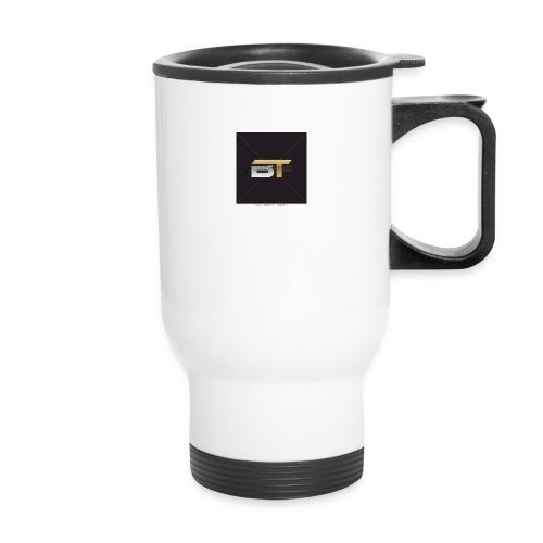 BT logo golden - Travel Mug