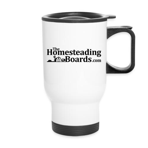 THB Black Logo BW 01 png - Travel Mug with Handle