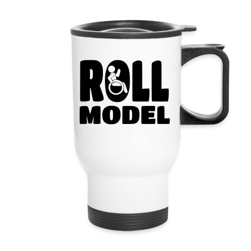 Wheelchair Roll model - Travel Mug