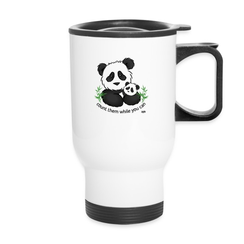 Snuggle Coats panda tshirt page 001 jpg - Travel Mug