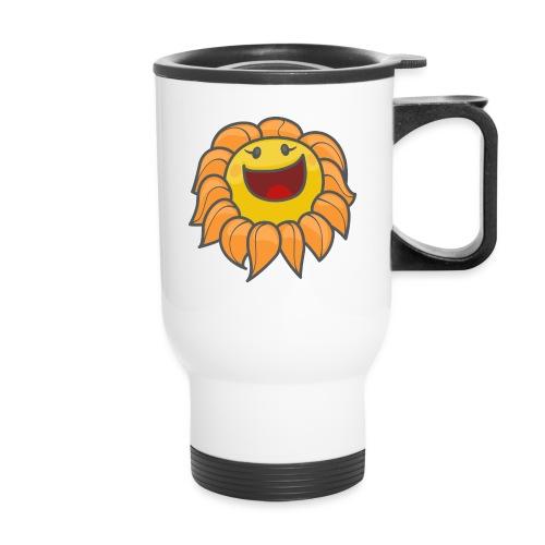 Happy sunflower - Travel Mug