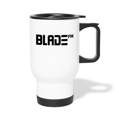 Black BladeFM Logo - Travel Mug