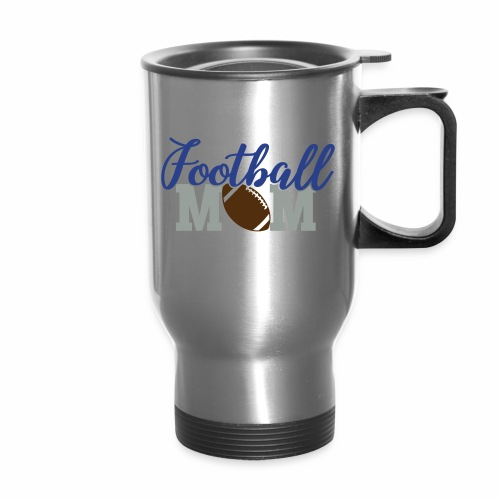 Football Mom titan - Travel Mug