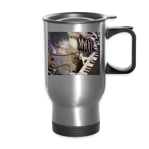 Dark Piano 1 - Travel Mug