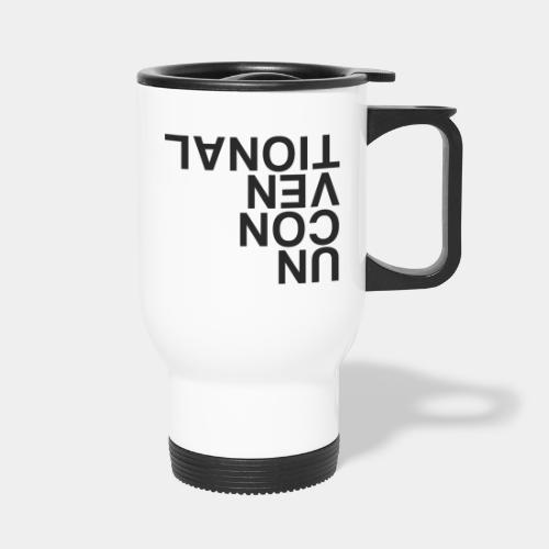 unconventional - Travel Mug