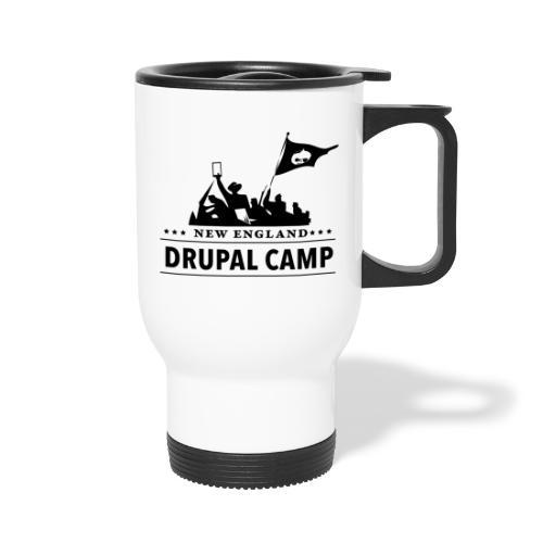 NEDCamp Logo Swag - Travel Mug with Handle