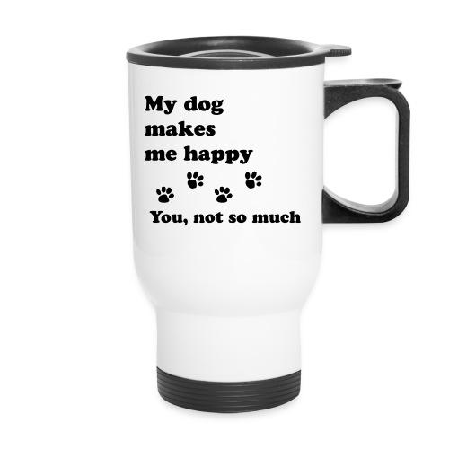 love dog 2 - Travel Mug