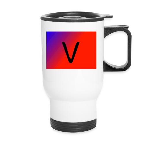 V for Vast - Travel Mug
