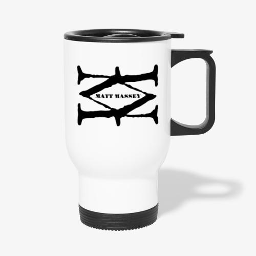 Matt Massey Logo Black - Travel Mug
