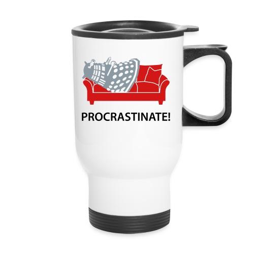 Dalek Procrastinate - Travel Mug