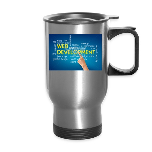 web development design - Travel Mug