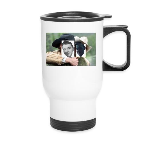 Darien and Curtis Camping Buddies - Travel Mug
