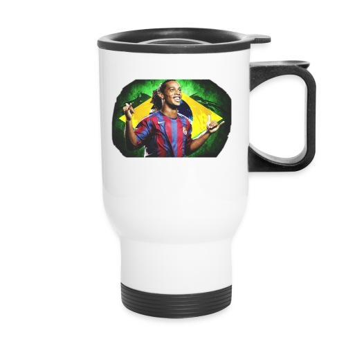 Ronaldinho Brazil/Barca print - Travel Mug