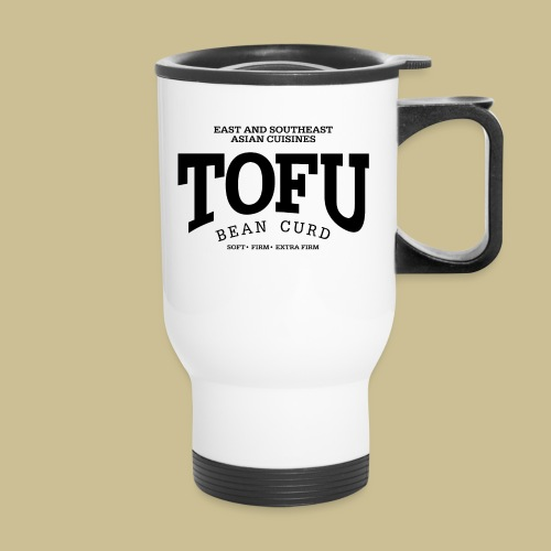 Tofu (black) - Travel Mug