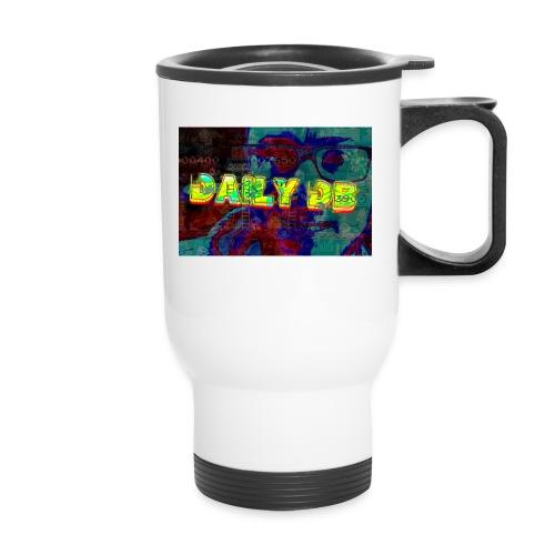 daily db poster - Travel Mug with Handle