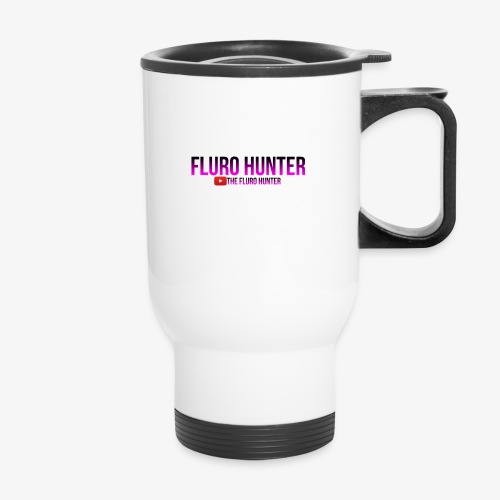 The Fluro Hunter Black And Purple Gradient - Travel Mug