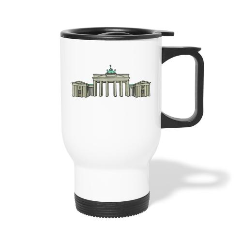 Brandenburg Gate Berlin - Travel Mug