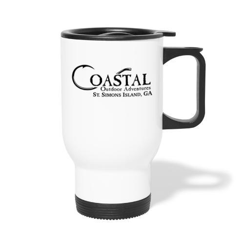 Coastal Outdoor Adventures - Travel Mug with Handle