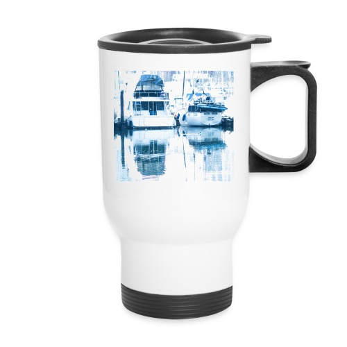 December boats - Travel Mug with Handle